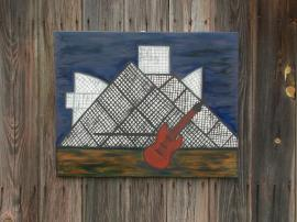 Rock Hall Painting